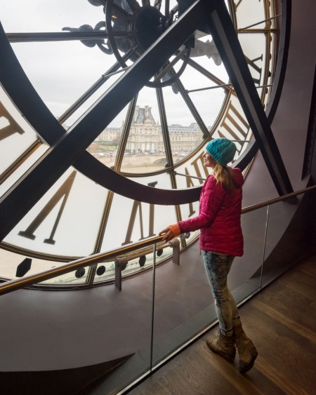 Clock in the Musée d'Orsay, Paris, France by Wandering Wheatleys