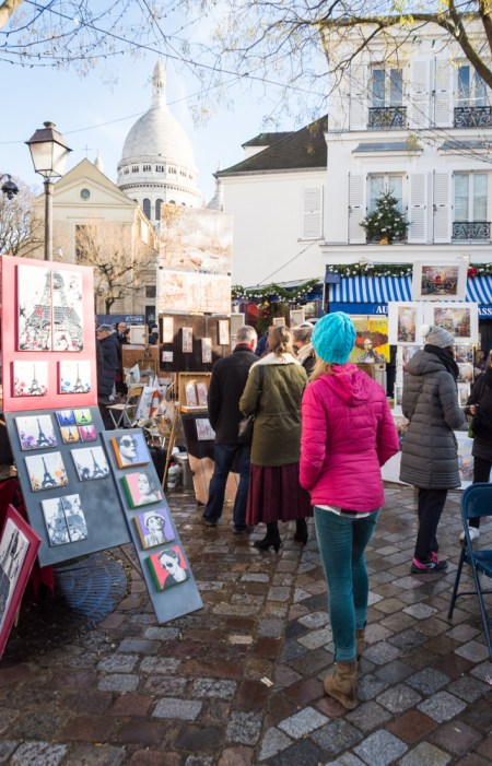 Montmartre, Partis, France by Wandering Wheatleys