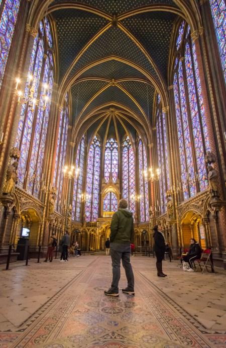 The Sainte-Chapelle, Paris, France by Wandering Wheatleys