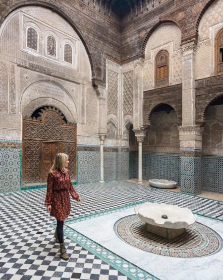 Al-Attarine Madrasa, Fes, Morocco by Wandering Wheatleys