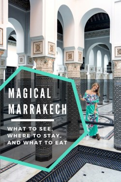 Best things to see in Marrakech, Morocco by Wandering Wheatleys