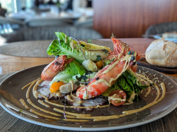 Bleu Salad at Four Seasons Hotel, Casablanca, Morocco by Wandering Wheatley