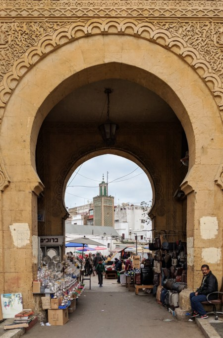 Entrance to the Old Medina, Casablanca, Morocco by Wandering Wheatleys