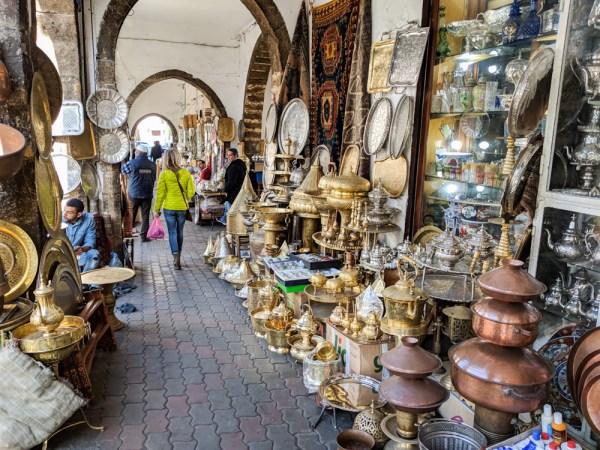 The New Medina of Habbous, Casablanca, Morocco