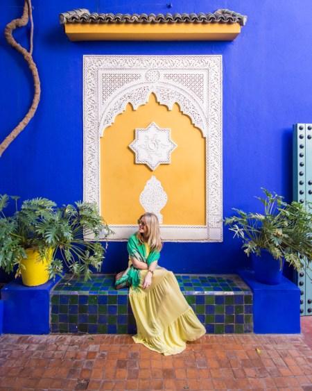 Jardin Majorelle, Marrakech, Morocco by Wandering Wheatleys