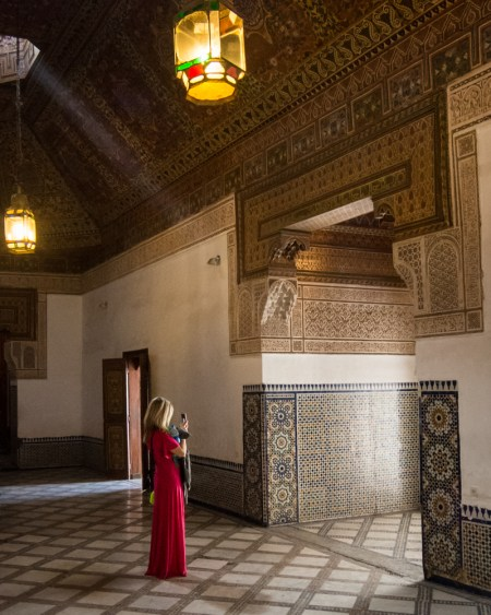 Light rays in the Palace of Bahia, Marrakech, Morocco by Wandering Wheatleys
