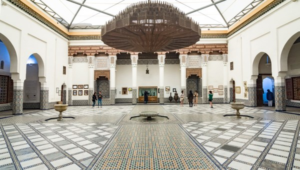 Courtyard of the Marrakech Museum, Morocco by Wandering Wheatleys