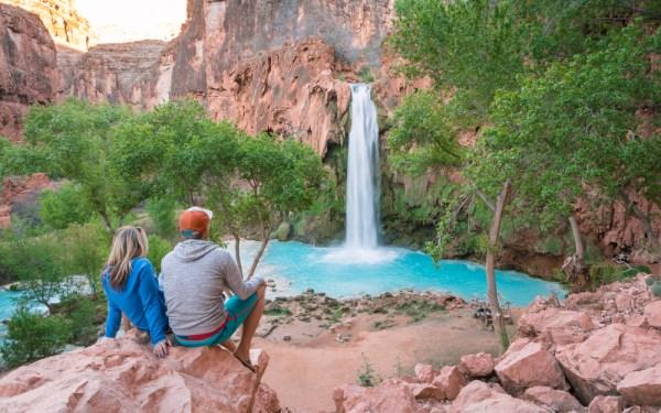 Overlooking Havasu Falls, Arizona by Wandering Wheatleys