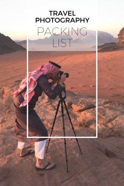 Travel Photography Packing List by Wandering Wheatleys