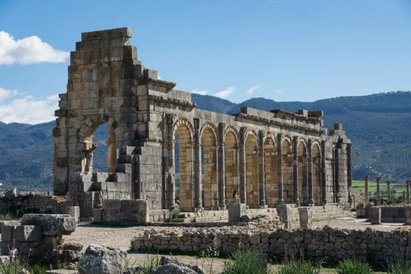 The Basilica of Volubilis, Morocco by Wandering Wheatleys