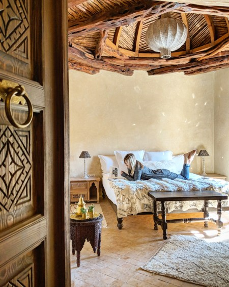 Bedroom at Villa Anouk, Essaouira, Morocco by Wandering Wheatleys