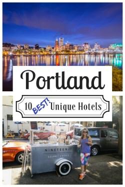 Best Unique Hotels in Portland, Oregon by Wandering Wheatleys