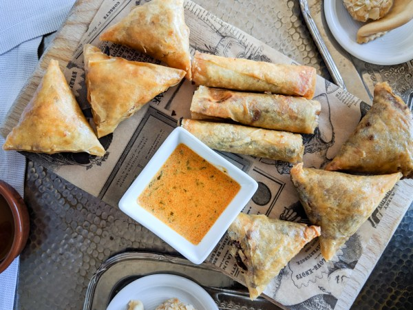 Foods to try in Morocco: Briouats by Wandering Wheatleys