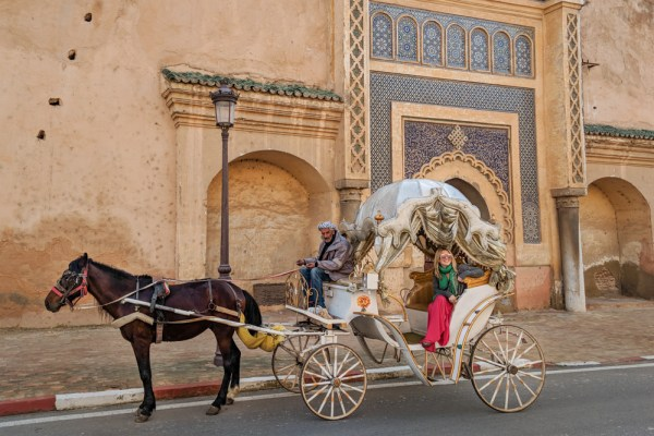 Horse Carriage Ride, Meknes, Morocco