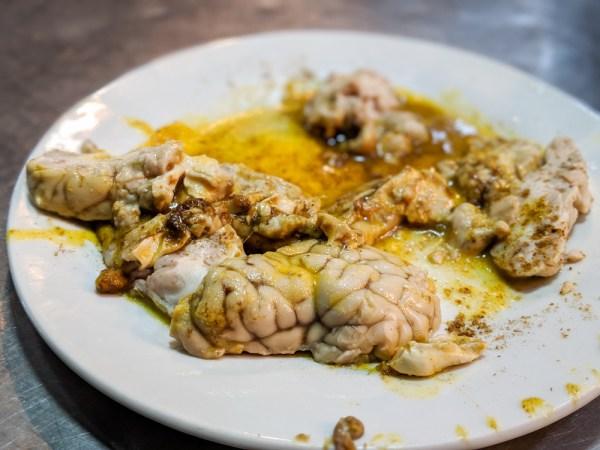 Moroccan Foods: Sheep's Brain by Wandering Wheatleys