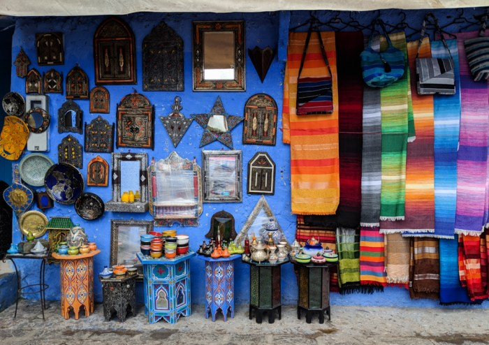 Shopping in Chefchaouen, Morocco by Wandering Wheatleys