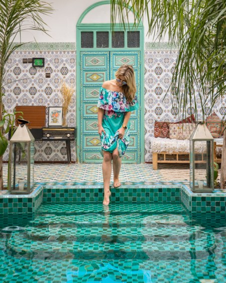 Riad BE Marrakech, Morocco by Wandering Wheatleys
