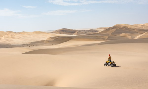 Sand Dunes in Swakopmund, Namibia by Wandering Wheatleys