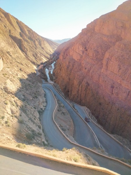 Snake Road, Dades Gorges, Morocco by Wandering Wheatleys