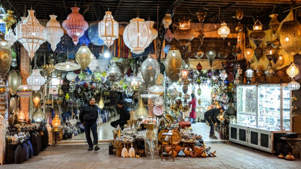 What to Buy in Morocco: Metal Lamps by Wandering Wheatleys