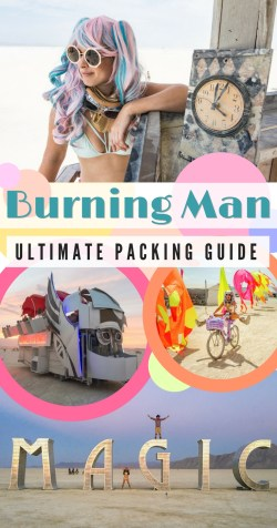 Burning Man Packing List by Wandering Wheatleys