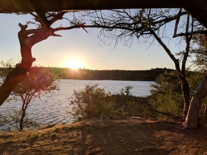 Lake Oanob Campground, Namibia by Wandering Wheatleys
