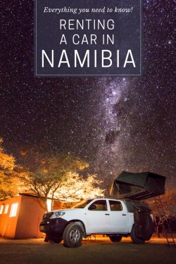 Renting a Car in Namibia by Wandering Wheatleys