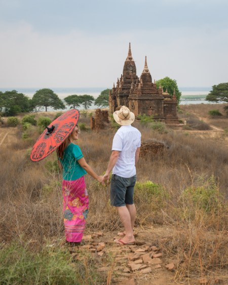 Best Sunrise/Sunset Spot in Bagan 2018