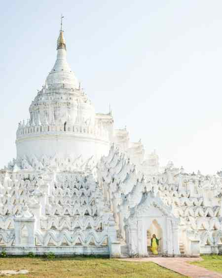 Hsinbyum Pagoda in Mingun, Mandalay, Myanmar