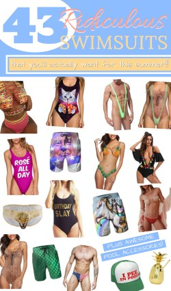 Ridiculous and Funny Swimsuits for Summer 2018
