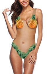 Ridiculous Women's Swimsuits: Pineapple One Piece
