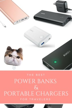 Best Power Banks and Portable Chargers for Travelers