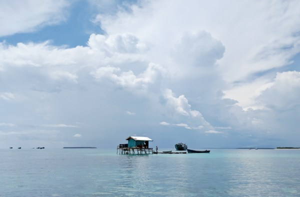 House on Stilts in Balabac, Philippines