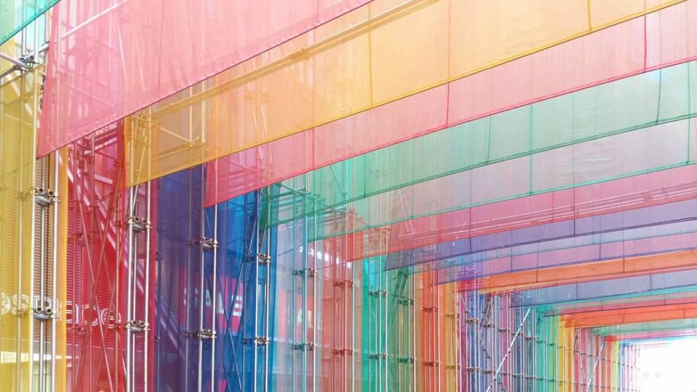 Pavilion Colourful Angle