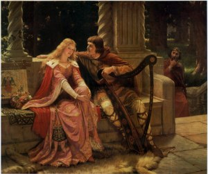 Edmund Leighton Tristan and Isolde-1902