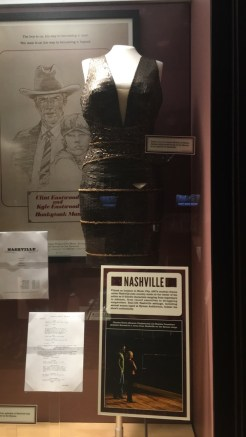 "Props from the show ""Nashville"""