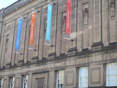 National Library in Edinburgh