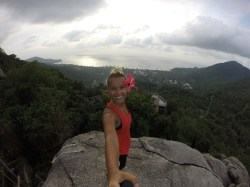 On top of Fragile Rock