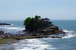 The main temple at Tanah Lot
