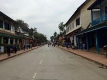 City sqaure in Luang Prabang