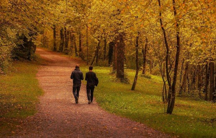 Mein Hobby ist (alleine) spazieren gehen, na und