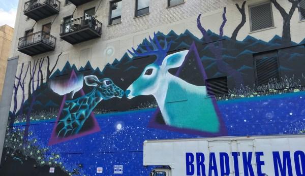 Chicago Street Art Deer