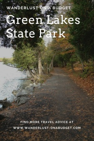A Look in my Own Backyard - Green Lakes State Park - Syracuse New York - Wanderlust on a Budget - www.wanderlust-onabudget.com