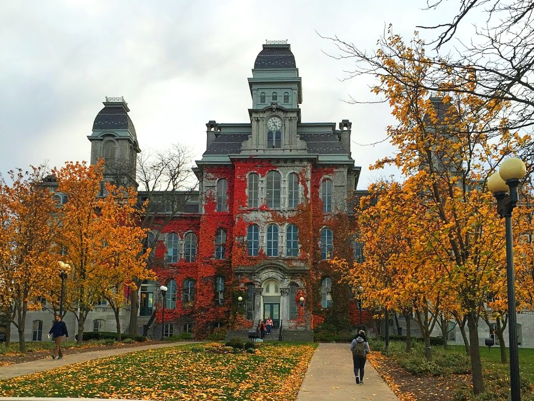 Hall of Languages in the Fall