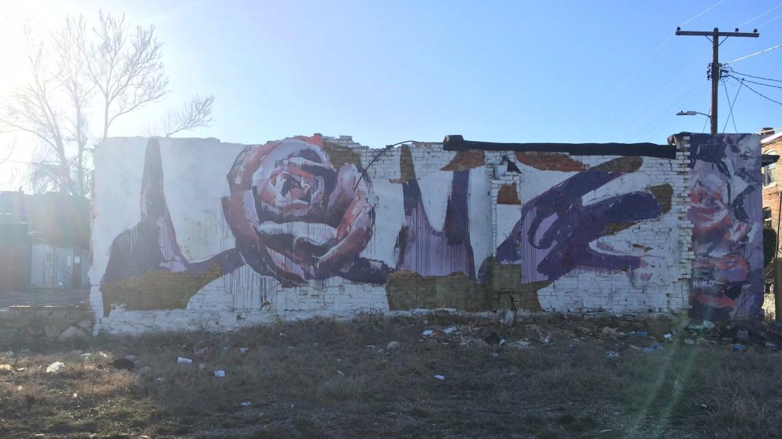 Baltimore Love Mural