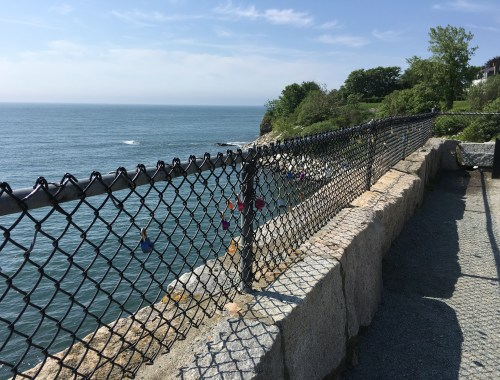 RI Cliff Walk Locks