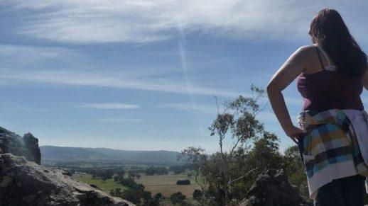 Top of Hanging Rock