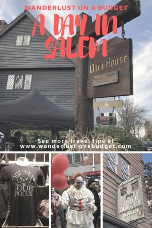 A Day in Salem - Visiting Salem on Halloween weekend - things to do in Salem - Hocus Pocus - Wanderlust on a Budget