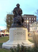 Nathaniel Hawthorne Statue - Salem