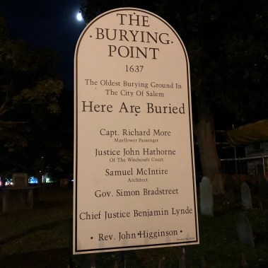 The Burying Point - Salem